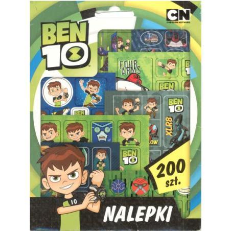 NALEPKI 200 BEN 10