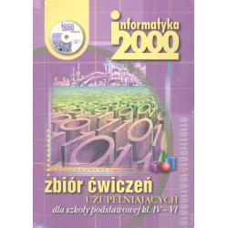INFORMATYKA KL.4-6 ZBIÓR ĆWICZEŃ UZUPEŁNIAJĄCYCH +CD.