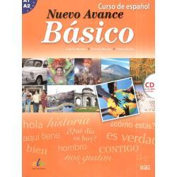 NUEVO AVANCE BASICO A1-A2. JĘZYK HISZPAŃSKI. PODRĘCZNIK+CD. Concha Moreno, Victoria Moreno, Piedad Zurita