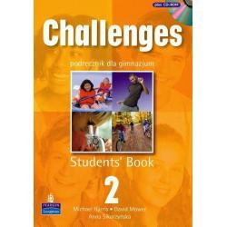 CHALLENGES 2.  PODRĘCZNIK +  CD. Anna Sikorzyńska, Michael Harris, David Mower