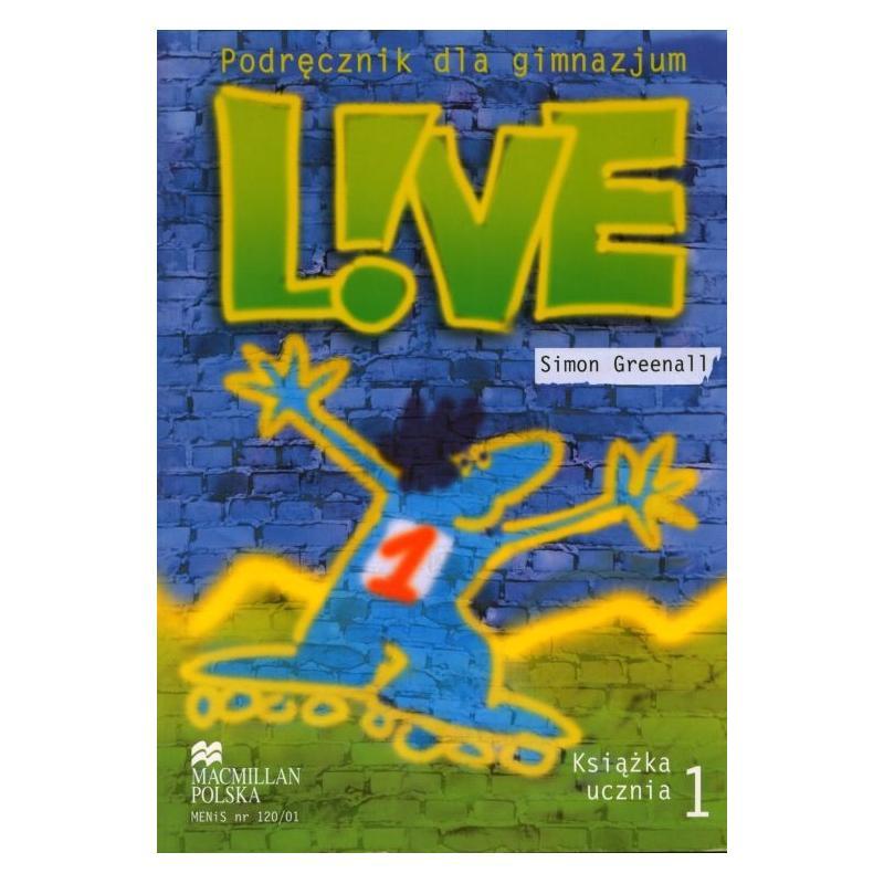 LIVE 1 . PODRĘCZNIK. Simon Greenall