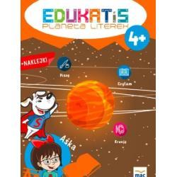 EDUKATIS PLANETA LITEREK 4+