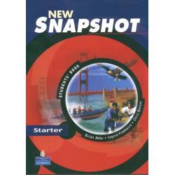 NEW SNAPSHOT STARTER PODRĘCZNIK JĘZYK ANGIELSKI Brian Abbs, Ingrid Freebairn, Chris Barker