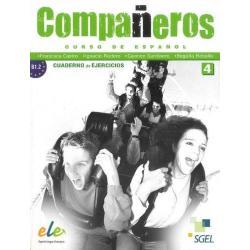 COMPANEROS 4 ĆWICZENIA . JĘZYK HISZPAŃSKI. Francisca Castelo, Ignacio Rodero, Carmen Sardinero, Begona Rebollo