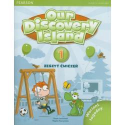 OUR DISCOVERY ISLAND 1B ZESZYT ĆWICZEŃ + CD-ROM. Tessa Lochowski, Regina Raczyńska