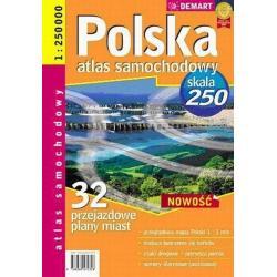 POLSKA PLUS 32 ATLAS SAMOCHODOWY 1:250 000