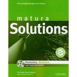 MATURA SOLUTIONS. KURS PRZYGOTOWUJĄCY DO MATURY +CD. Tim Falla, Paul A Davies, Małgorzata Wieruszewska