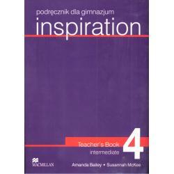INSPIRATION 4. PODRĘCZNIK. Amanda Bailey, Susannah McKee