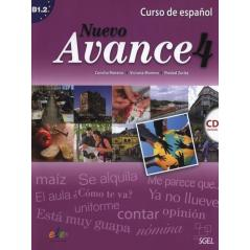 NUEVO AVANCE 4. PODRĘCZNIK + CD. JĘZYK HISZPAŃSKI. Concha Moreno, Victoria Moreno, Piedad Zurita