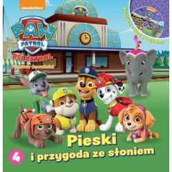 PIESKI I PRZYGODA ZE SŁONIEM PSI PATROL + DVD