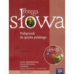 POTĘGA SŁOWA. .JĘZYK POLSKI. PODRĘCZNIK CZĘŚĆ 1 +CD. ZAKRES PODSTAWOWY I ROZSZERZONY.  Mariusz Pawłowski, Katarzyna Porembska