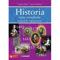 HISTORIA. CZASY  NOWOŻYTNE. PODRĘCZNIK. Janusz Drob, Jacek Chachaj