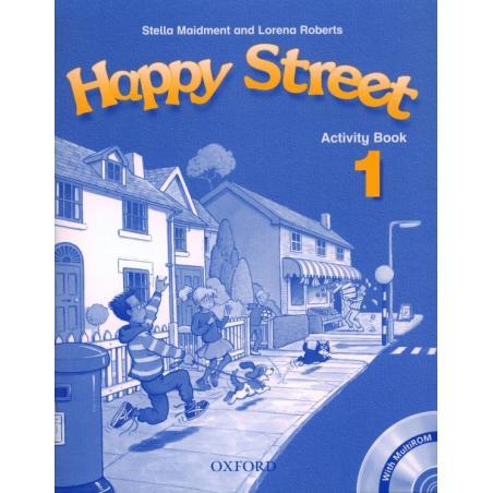 HAPPY STREET 1. ĆWICZENIA +CD. SZKOŁA PODSTAWOWA. Stella Maidment, Lorena Roberts