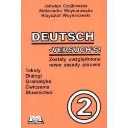 DEUTSCH VERSUCHS 2 Jadwiga Czajkowska