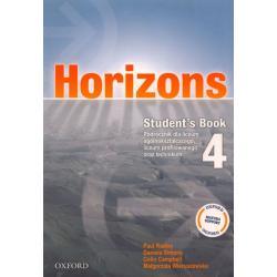 HORIZONS 4 PODRĘCZNIK Paul Radley, Daniela Simons, Colin Campbell
