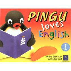 PINGU LOVES ENGLISH. PODRĘCZNIK. EDUKACJA WCZESNOSZKOLNA. Diana Webster, Anne Worrall