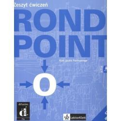 ROND POINT 1. A1-A2. ZESZYT ĆWICZEŃ +CD. JĘZYK FRANCUSKI. Josiane Labascoule, Corinne Royer