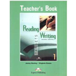 READING, WRITING TARGETS 1.  KSIĄŻKA DLA NAUCZYCIELA. Jenny Dooley, Virginia Evans