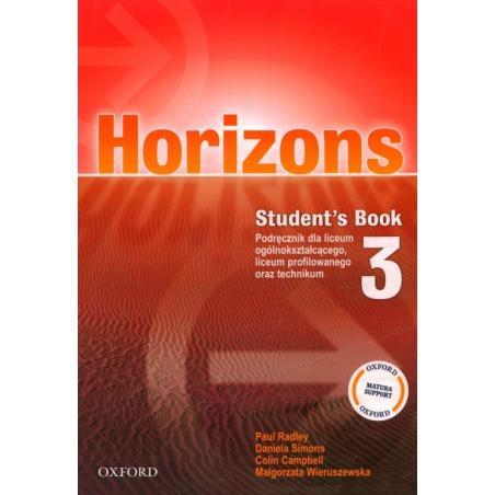 HORIZONS 3 PODRĘCZNIK Paul Radley