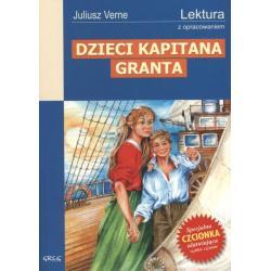DZIECI KAPITANA GRANTA LEKTURA Z OPRACOWANIEM Verne Juliusz