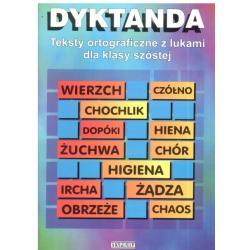 DYKTANDA. TEKSTY ORTOGRAFICZNE Z LUKAMI. Małgorzata Iwanowicz