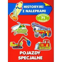 POJAZDY SPECJALNE HISTORIE Z NALEPKAMI Anna Wiśniewska