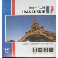 ROZMÓWKI FRANCUSKIE -CD. TYSIĄCE WYRAŻEŃ PRZYDATNYCH W PODRÓŻY.