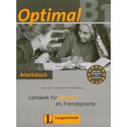 OPTIMAL B1. ĆWICZENIA +CD. JĘZYK NIEMIECKI. LICEUM, TECHNIKUM.