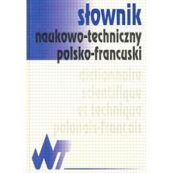 SŁOWNIK NAUKOWO-TECHNICZNY POLSKO-FRANCUSKI.