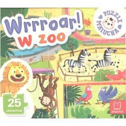WRRROAR! W ZOO PUZZLE MALUCHA 3+