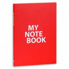 NOTES MY NOTE BOOK CZERWONY 15 x 21 CM