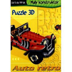 PUZZLE 3D AUTO RETRO