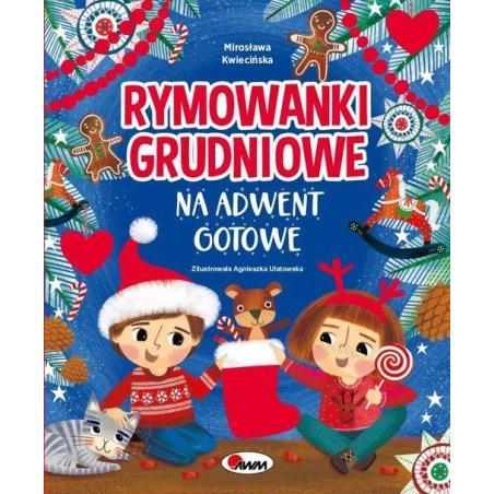 RYMOWANKI GRUDNIOWE NA ADWENT GOTOWE Mirosława Kwiecińska
