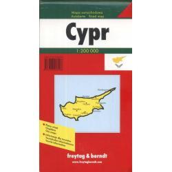 CYPR. MAPA SAMOCHODOWA 1:200 000.