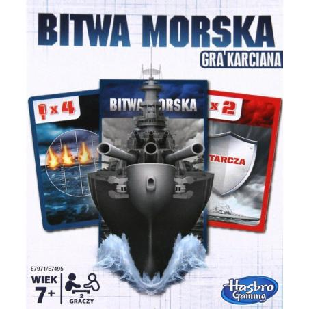 BITWA MORSKA GRA KARCIANA 7+