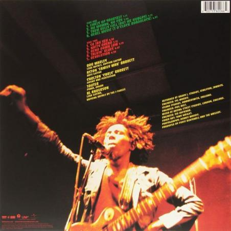MARLEY, BOB & THE WAILERS - NATTY DREAD (1 LP + MP3 DOWNLOAD) - BACK TO BLACK EDITION WINYL