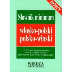 SŁOWNIK MINIMUM WŁOSKO-POLSKI, POLSKO-WŁOSKI.