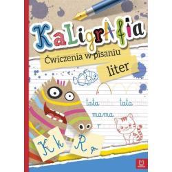 KALIGRAFIA ĆWICZENIA W PISANIU LITER 7+