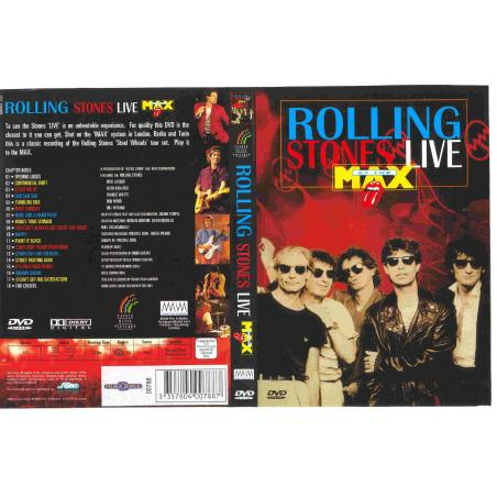 THE ROLLING STONES LIVE AT MAX DVD