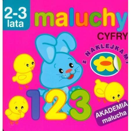 MALUCHY CYFRY Z NAKLEJKAMI 2-3 LATA Irma Pikiene