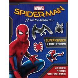 SPIDER-MAN HOMECOMING SUPERKSIĄŻKA Z NAKLEJKAMI