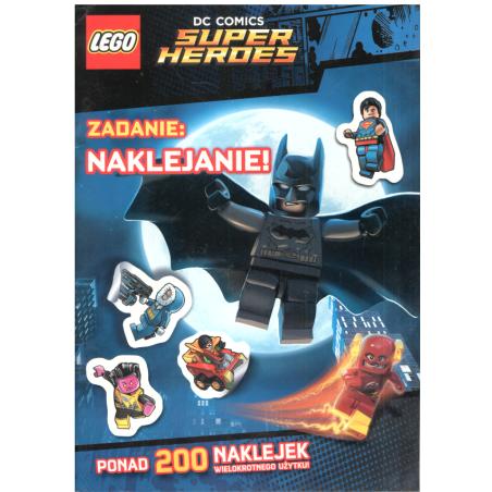 LEGO SUPER HEROES ZADANIE NAKLEJANIE! 7+