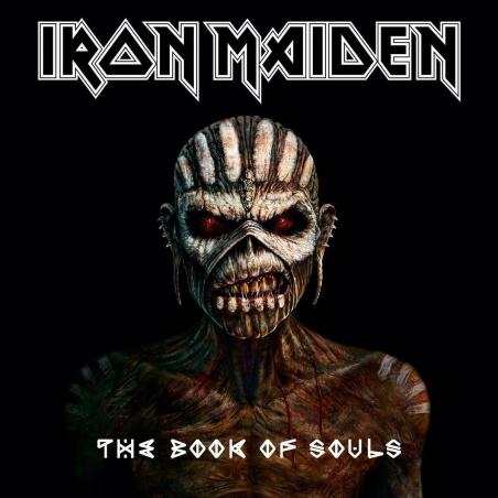 IRON MAIDEN THE BOOK OF SOULS 2 CD