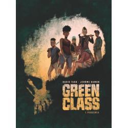 GREEN GLASS 1 PANDEMIA Jerome Hamon