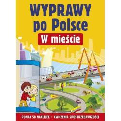 WYPRAWY PO POLSCE W MIEŚCIE 50 NAKLEJEK Ludwik Cichy