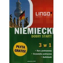 NIEMIECKI DOBRY START 3 W 1 + CD  Tomasz Sielecki, Piotr Dominik