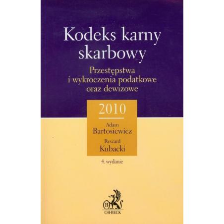 KODEKS KARNY I SKARBOWY Ryszard Kubacki, Adam Bartosiewicz