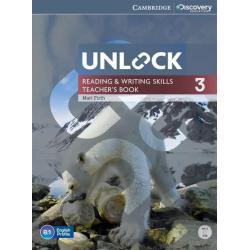 UNLOCK 3 READING & WRITING SKILLS TEACHER'S BOOK + DVD Matt Firth