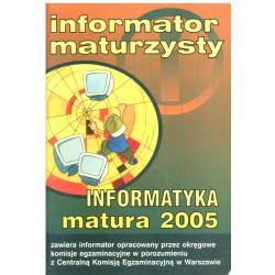 INFORMATOR MATURZYSTY INFORMATYKA