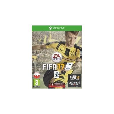 FIFA 17 XBOX ONE PL